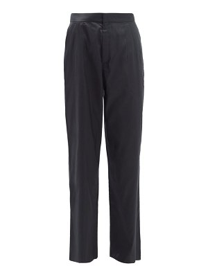 Marques Almeida high-rise silk trousers