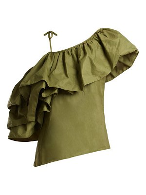Marques Almeida Marques'almeida - One Shoulder Taffeta Top