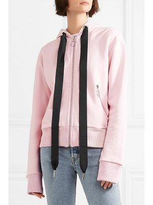 Marques' Almeida oversized cotton-blend jersey hooded top