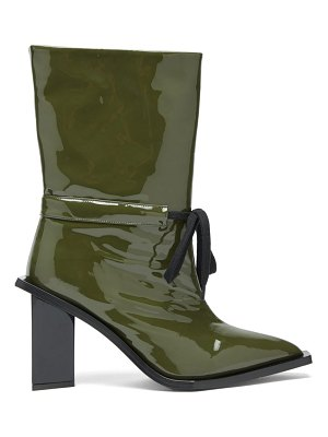 Marques Almeida patent leather boots