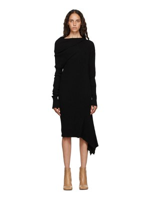 Marques Almeida rib knit draped dress