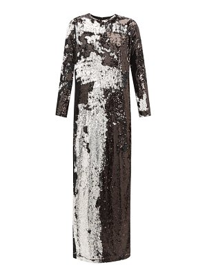 Marques Almeida two way sequinned occasion dress