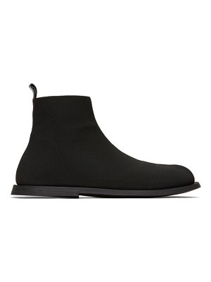 Marsell black ambello high-top sneakers