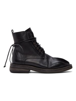 Marsell black dodone boots