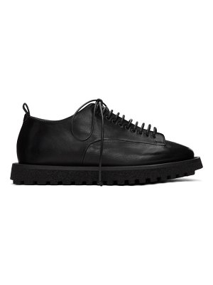 Marsell black gomme pomicella derbys