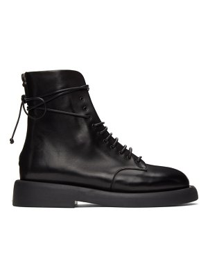Marsell black gommello ankle boots