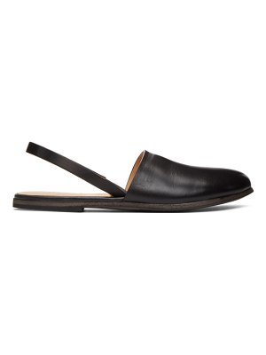 Marsell black slingback marcella loafers