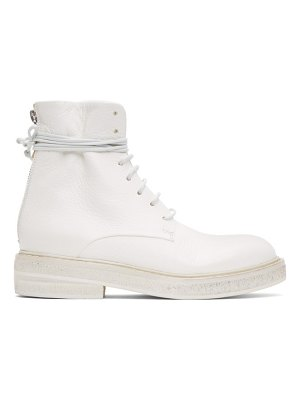 Marsell white parrucca boots