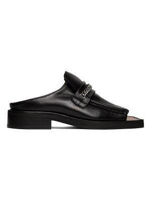 MARTINE ROSE open toe loafers