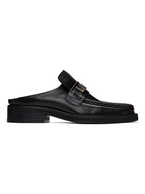 MARTINE ROSE ssense exclusive  leather loafers