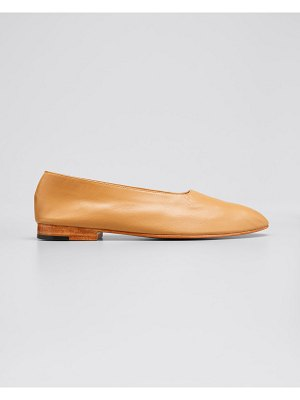 MARTINIANO Leather High Glove Pumps
