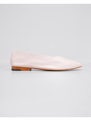 MARTINIANO Leather Glove Flats