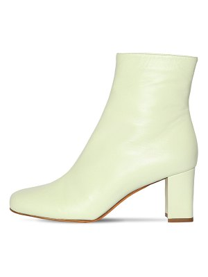 Maryam Nassir Zadeh 70mm agnes leather ankle boots