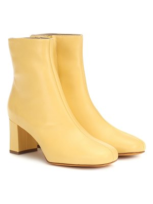 Maryam Nassir Zadeh agnes leather ankle boots