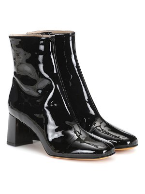 Maryam Nassir Zadeh agnes patent leather ankle boots