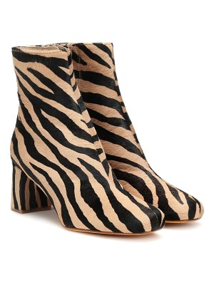 Maryam Nassir Zadeh exclusive to mytheresa – agnes calf hair ankle boots