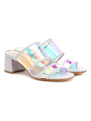Maryam Nassir Zadeh martina leather-trimmed sandals