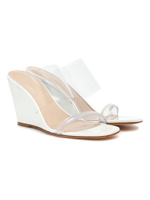 Maryam Nassir Zadeh Exclusive to Mytheresa – Olympia patent leather wedge sandals
