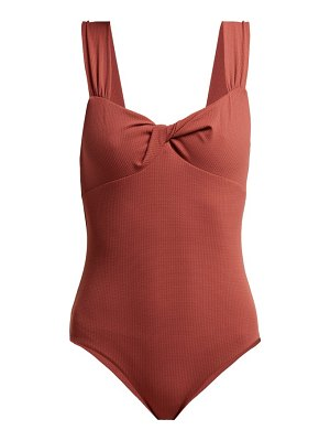 Marysia Swim leah knotted swimsuit