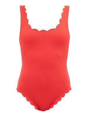 Marysia Swim palm springs scalloped-edge swimsuit