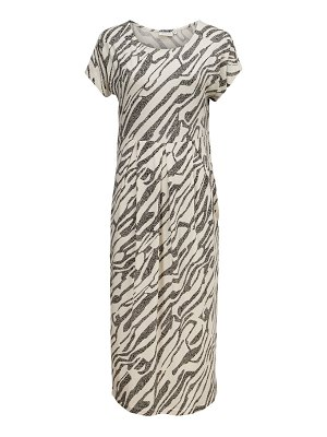 Masai Olnia Animal Stripe Midi Dress