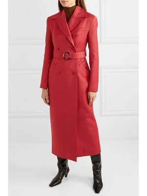 MATÉRIEL belted double-breasted wool-blend coat