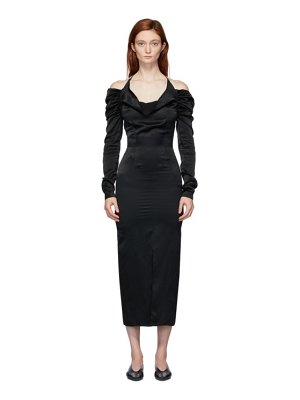 Materiel Tbilisi cowl neck dress