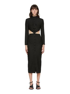 Materiel Tbilisi side cut-out dress