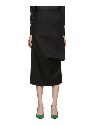 Materiel Tbilisi side slash pencil skirt