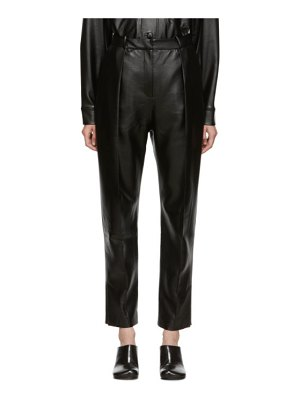Materiel Tbilisi ssense exclusive  vegan leather trousers