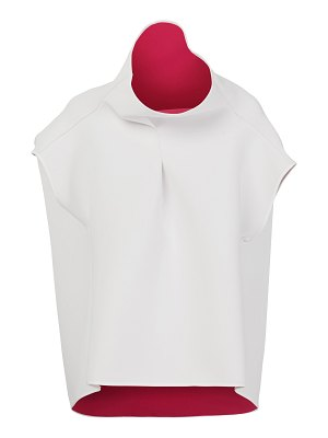 Maticevski hedy two-tone cady top