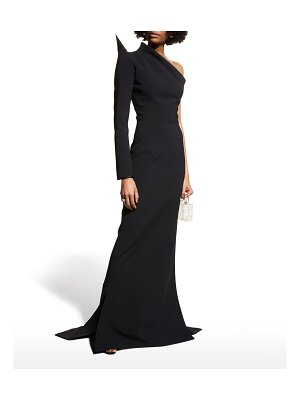 Maticevski Scorpius One-Shoulder Gown