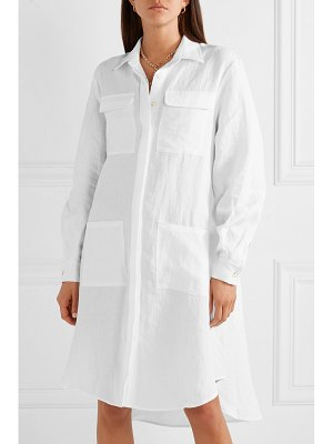 MATIN oversized asymmetric linen dress