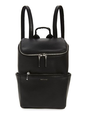 Matt & Nat braves vegan leather backpack