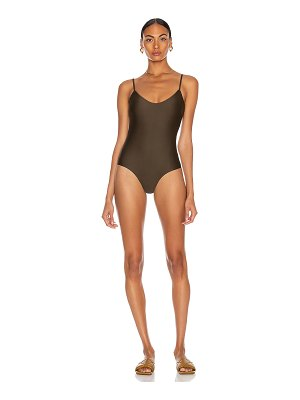 MATTEAU scoop maillot swimsuit
