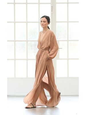 MATTEAU gauze maxi dress