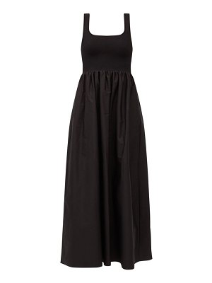 MATTEAU the knit and cotton maxi dress