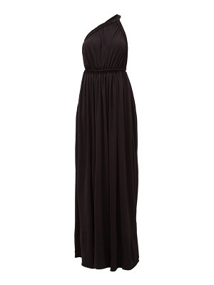 MATTEAU the one shoulder maxi dress