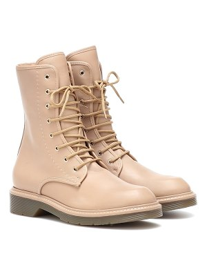 Max Mara baker leather ankle boots