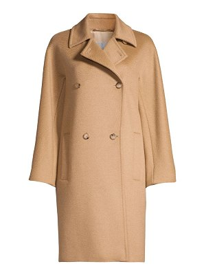 Max Mara baleari tailored camel hair coat