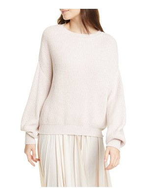 Max Mara blouson sleeve cotton sweater