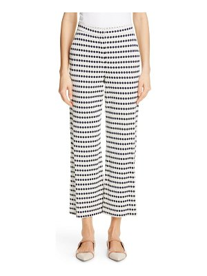 Max Mara bora wide leg crop pants