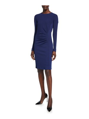 Max Mara Colimbo Ruched-Jersey Bodycon Dress
