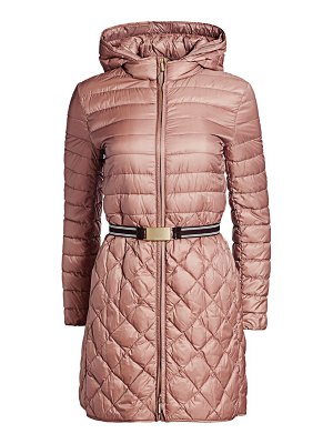 Max Mara etrevi quilted belted coat