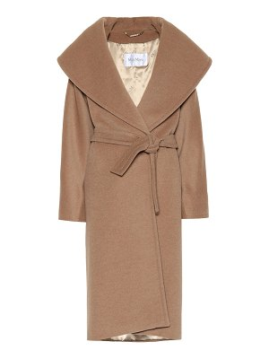 Max Mara fretty camel hair coat