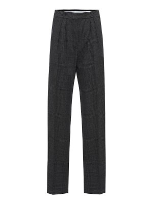 Max Mara luana houndstooth wool-blend pants