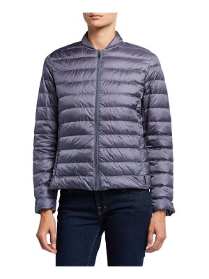 Max Mara Leisure Channel Quilted Zip-Front Jacket