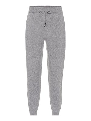 Max Mara leisure pinco cashmere trackpants