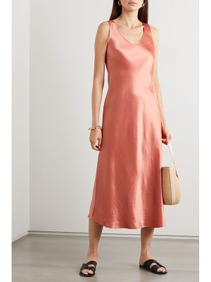 Max Mara leisure talete satin midi dress
