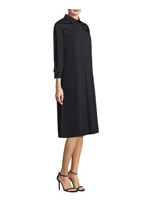 Max Mara relais cotton shirt dress
